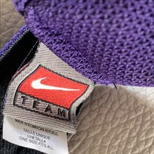 Nike Accessories - Purple Lakers Visor.  One size fits all.
